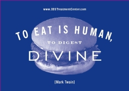 To Eat is Human, To Digest, Divine