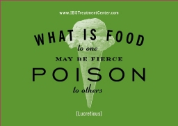 What is Food to One May Be Fierce Poison to Others